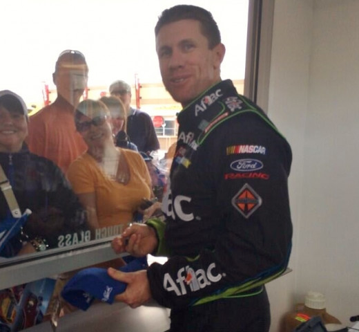 Carl Edwards remains a talented, popular driver. How much better would he be with a firm foundation?
