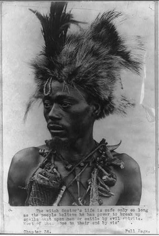 An African Shaman