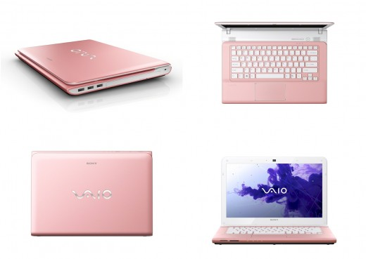Sony VAIO E Series 14-Inch Pink Laptop
