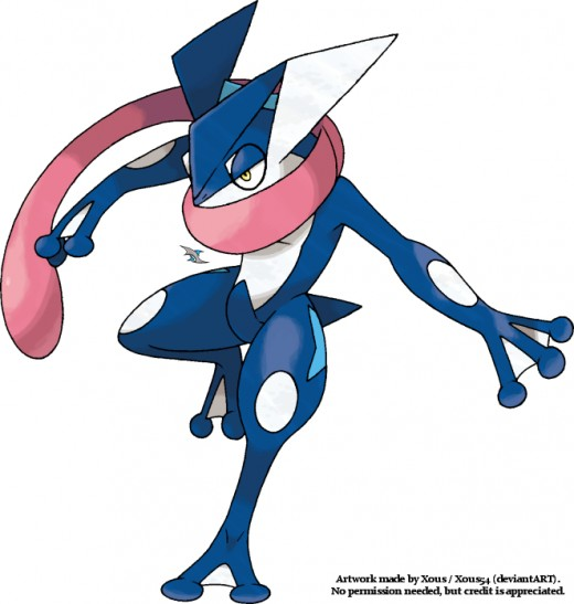 Greninja by Xous54 on Deviantart