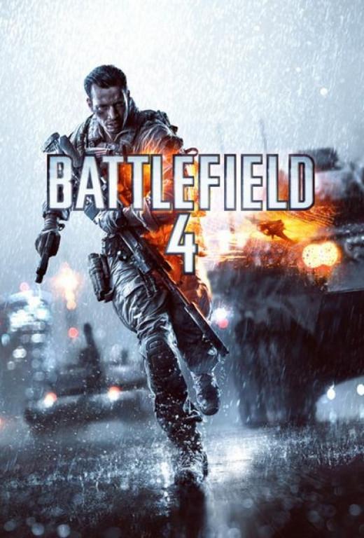 Battlefield 4 box art.