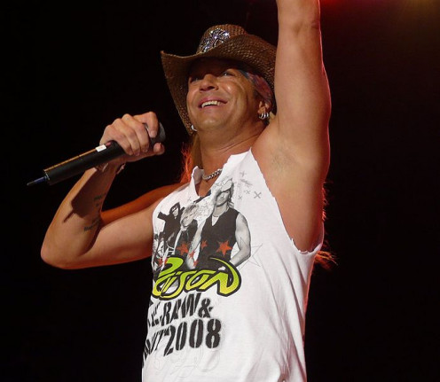 Bret Michael Sychak (born March 15, 1963) http://en.wikipedia.org/wiki/Bret_Michaels