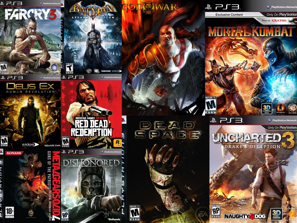 All Playstation 3 Games : Best ps games of all time
