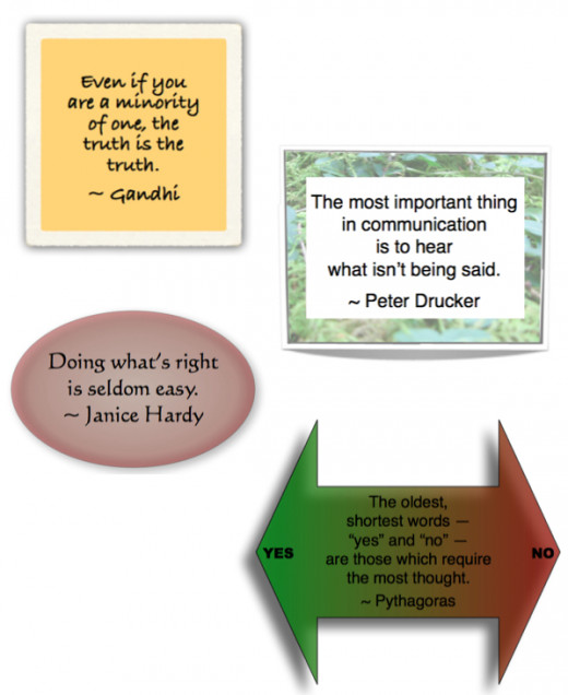 Truth, Communication and the Right Thing