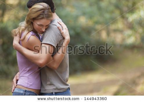 A simple hug shows love