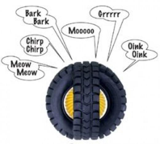 Animal X-Tire Ball