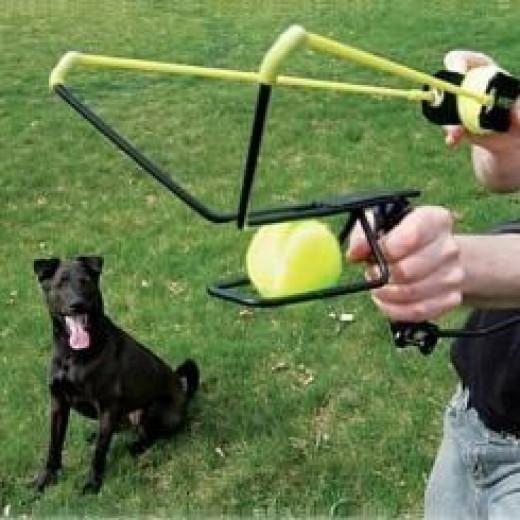 Hyper ball launcher
