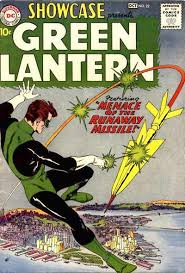 Showcase # 22 from 1959 the first appearance of Hal Jordan.