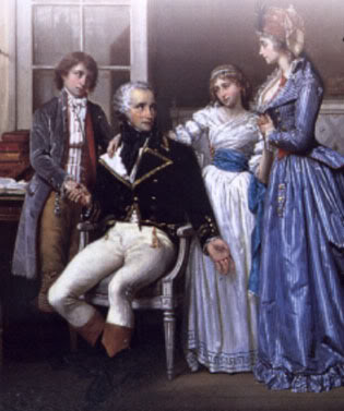 An idealised portrait of Beuaharnais family made in later years.