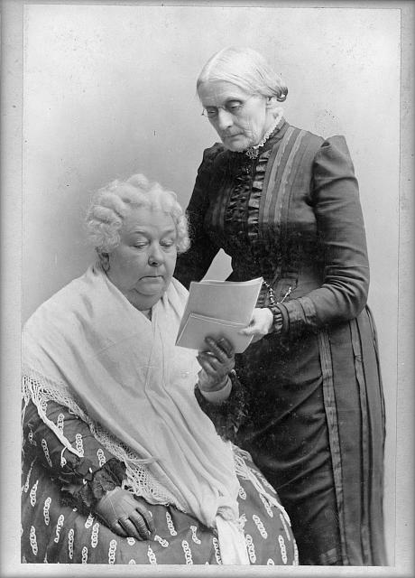 Elizabeth Caddy Stanton and Susan B. Anthony Pioneers of Their Time