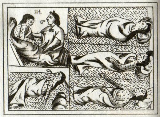 Aztec smallpox victims