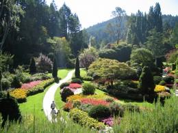"Garden ""butchart gardens"", Vancouver Island, British Columbia, Canada"