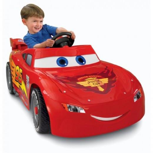 lightning mcqueen power wheels ride on toy