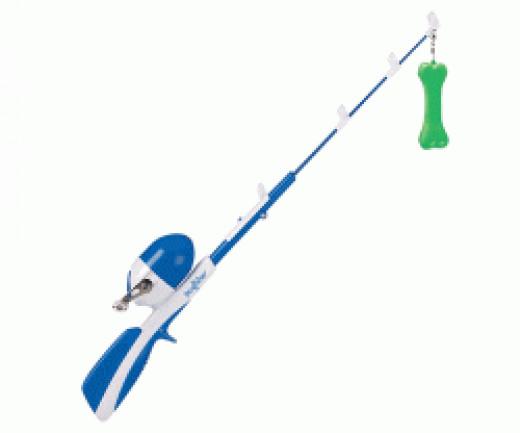 Dog Toy Fishing Pole
