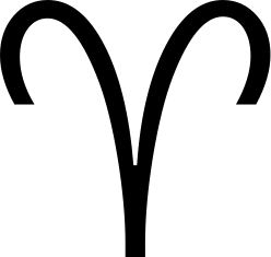 Aries's glyph