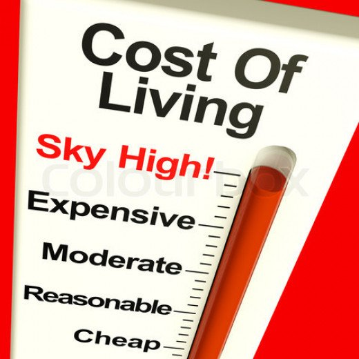 The cost of living differentiates between different locations and should always be a factor in your search.