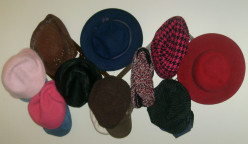 Just a few of the hats I have