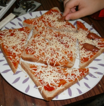 Adding the other favorite pizza toppings