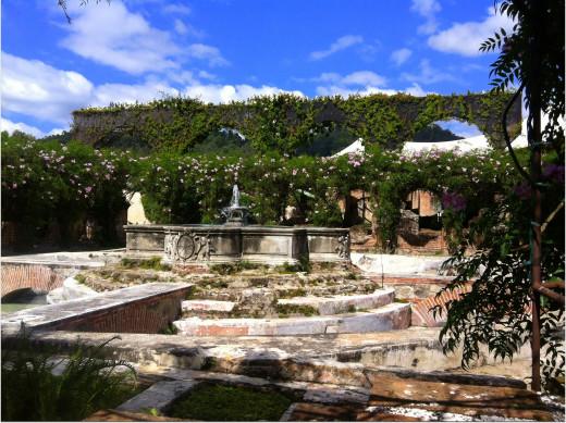 Grounds of Casa Santo Domingo