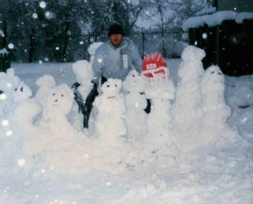 Snowmen football team