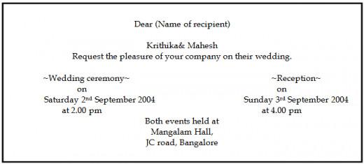 Wedding Wordings 123weddingcards
