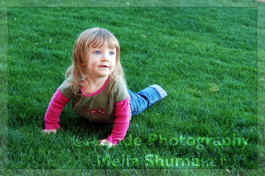Roll Over in Green Grass