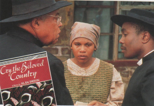 Cry, the Beloved Country one of my best stories the ground breaker, twice filmed. Alan Paton's Cry, the Beloved Country starred James Earl Jones as the Reverend Stephen Kumalo in the 1995 version.