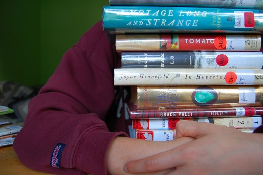 I'm a true bibliophile! I love books in all their forms, but I can't keep them all. Libraries are a good option.