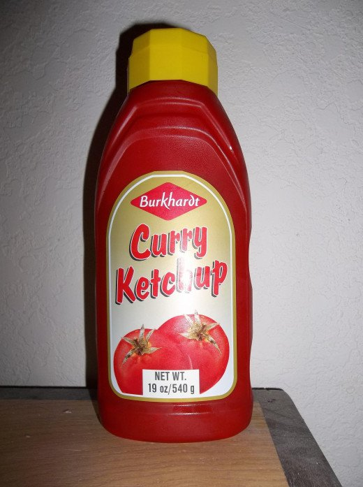 One can purchase curry ketchup at the supermarket in Germany and often now in the United States.