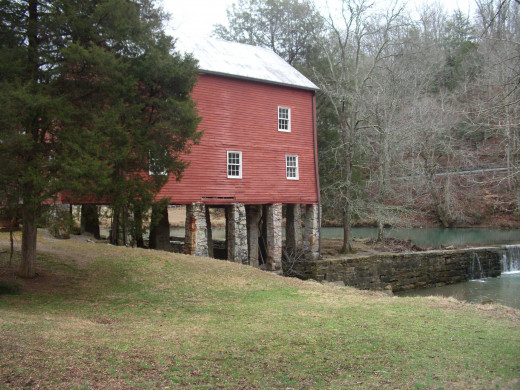 Side View of York Grist Mill