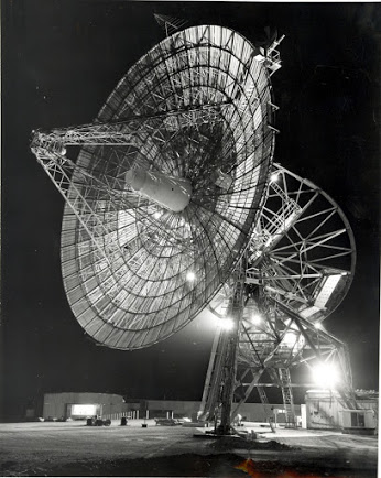 This 85-foot antenna operated in Woomera (Island Lagoon), at Australia Deep Space Station (DSS) 41, established August 1960. First DSS outside of USA.