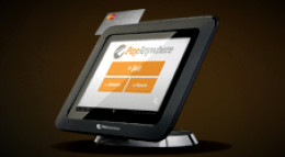 PayAnywhere Tablet and Stand With Built In Card Reader