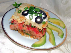 Vegetarian Enchilada Casserole Recipe