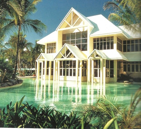 Located Near The Great Barrier Reef on one side and the Daintree Rainforest on The Other Side.