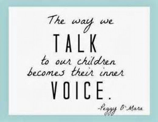 What does your child hear when you speak?