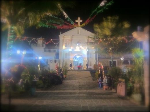 La Navidad celebration and nativity in San Pedro