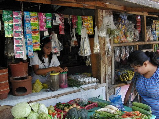 A typical retail store in the Philippines and an overused business format.