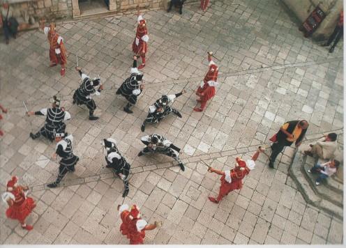 Moreška Sabre Dance