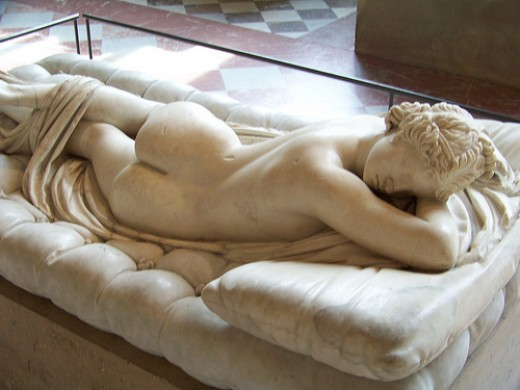 Sleeping Hermaphroditus, Louvre, Paris