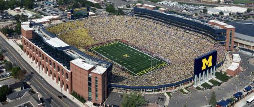 Michigan Stadium.