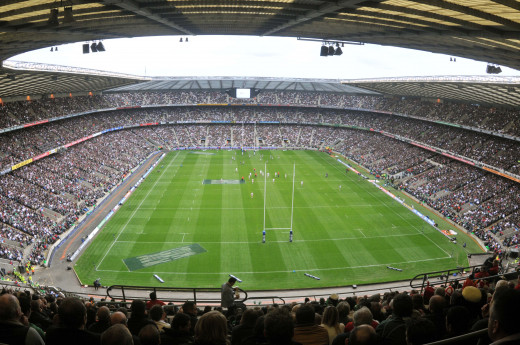 Twickenham Stadium.