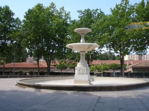André Chenier Garden, Carcassonne, Aude, France