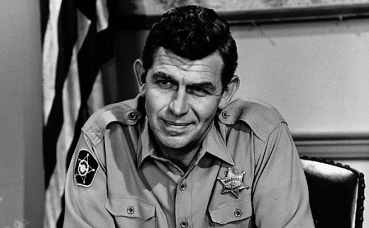 Who knows what Andy Taylor was really doing to keep Mayberry crime-free?