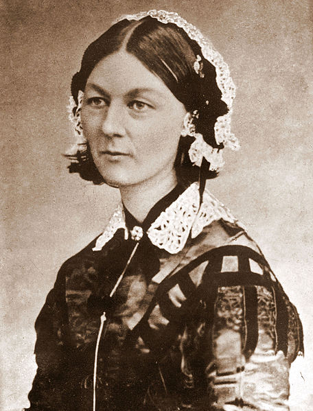 Florence Nightingale revolutionised the care of a wounded soldiers in the Crimea with her attention to good nursing practice, in particular cleanliness. She was dubbed 'the Angel of the Crimea' for her life-saving work.