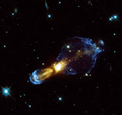 Someone actually named this the Rotten Egg Nebula.  Astronomers have an odd sense of humor.