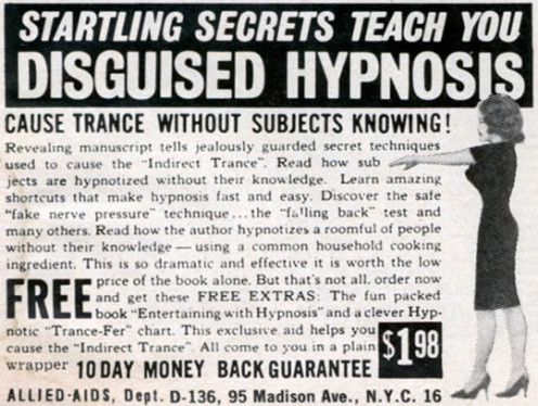 Hypnosis should not be a mystery.