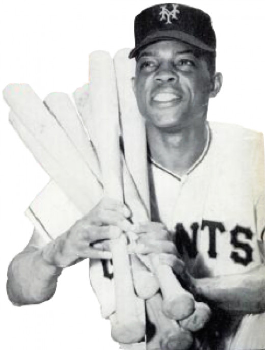 Willie Mays in 1954
