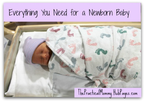 Learn about the items you need for your newborn baby, along with some items you may not need.