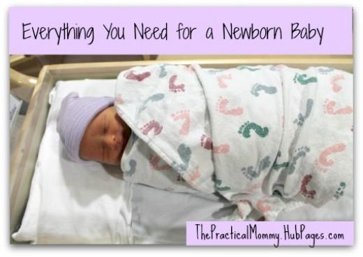newborn baby needs