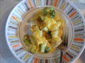 A Nourishing Cheesy Potato and Vegetable Casserole, Perfect for Two, Very Easy to Prepare, and Gluten-Free!